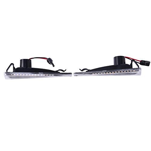 SNOWINSPRING Piezas de AutomóVil para Clio Megane KANGOO Symbol Placa de Hoja Luz Lateral de Se?Al de Giro