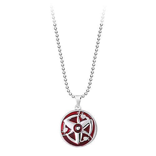 XCWXM Collar de Anime Estrella geométrica Mingyueyun Pareja Pareja Collar Colgante Collar Hombres y Mujeres Giftla Jewelry-21