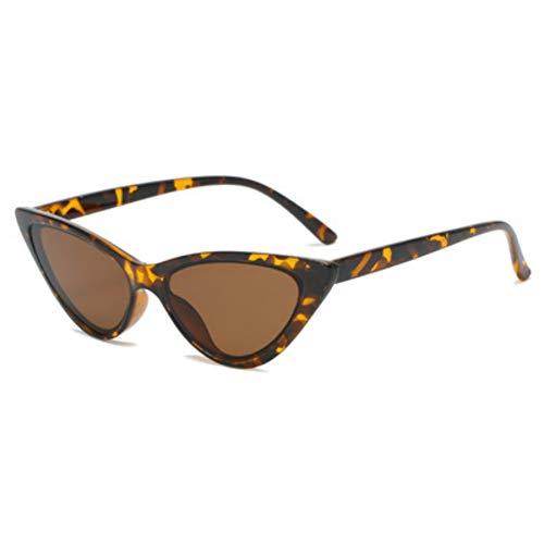 Gafas de sol retro de montura pequeña para hombres y mujeres, de moda, rectangulares, con borde transversal, para todos los partidos