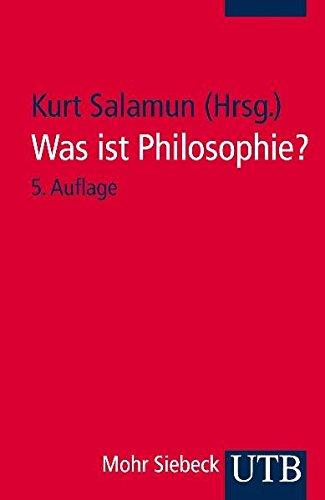 Was ist Philosophie?: Neuere Texte zu ihrem Selbstverständnis (Uni-Taschenbücher S):