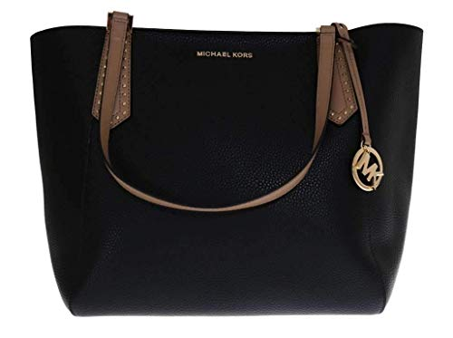 Michael Kors große Kimberly Tasche Schwarz 45x35x17cm neue