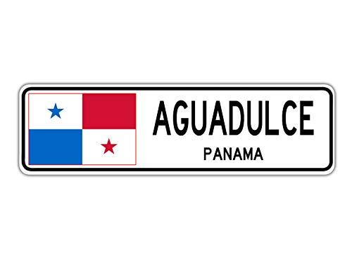 TammieLove - Señal de la calle de Panamá con bandera de Pa