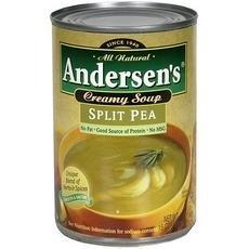 Progresso B82239 Andersons Split Pea Soup44; No Fat Can - 12x15Oz