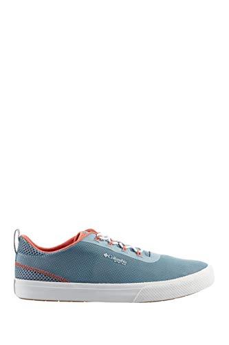 Columbia Women's Dorado PFG Water Resistant Boat Sneaker, (Size 8.5, Dark Mirage/Faded Peach)