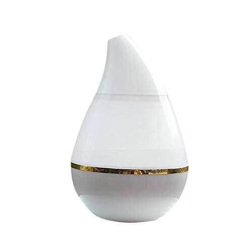 NAttnJf Luftbefeuchter Luftbefeuchter Luftbefeuchter Mini USB vom Auto des Diffusers der Luft 250ml weiß