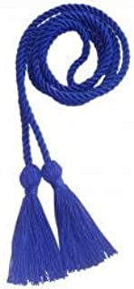 Lescapsgown Honor Cords Polyester(Royal Blue)