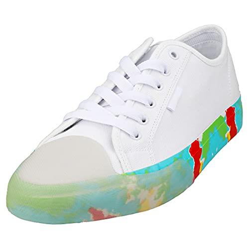 DC Shoes Manual Evan Smith Homme Baskets Mode White Multicolour - 46 EU