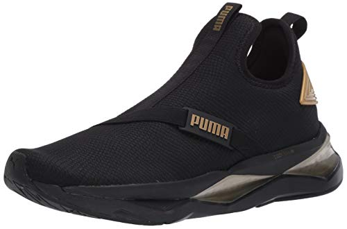 PUMA womens Lqd Cell Shatter Xt Cross Trainer, Puma Black, 8.5 US