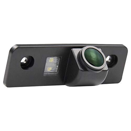 Verbesserte Rückfahrkamera 1280 x 720p Kamera integriert in Kennzeichenbeleuchtung Nummernschildbeleuchtung Rückfahrkamera für VW Skoda Octavia 2 RS 1Z Facelift Superb 2 Fabia 2 Roomster Tour