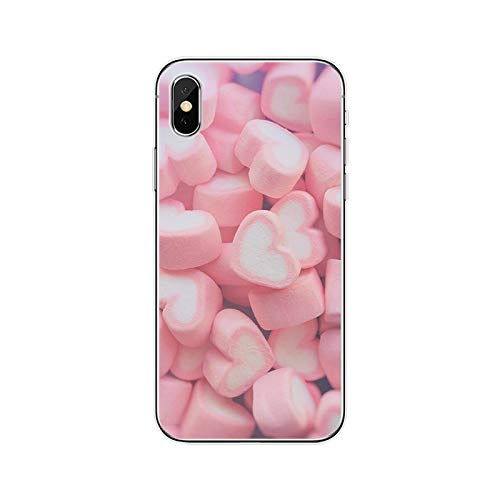 Pink Aesthetic - Carcasa de silicona para iPhone 5, 5S, SE, 6, 6Plus, 7 Plus, 8 Plus, X, XS, XS, XR, XS Max 11, para iPhone 11 Pro Max-T19080508-02.jpg-for iPhone 7