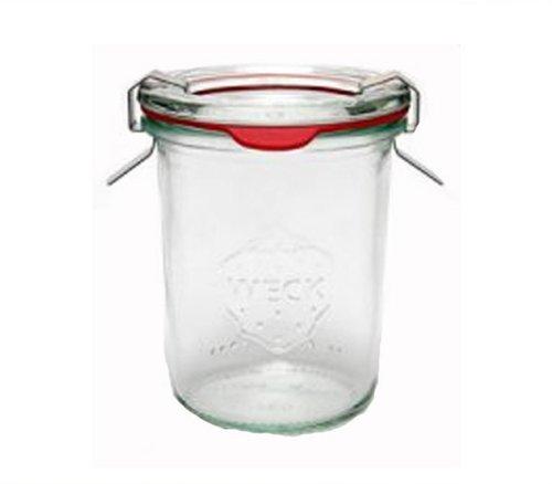 24 Weck Gläser 160 ml Einmachgläser Sturzgläser Weckgläser / inkl Einkochringe Klammern Glasdeckel