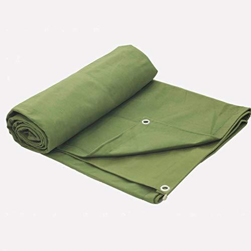 Waterdicht dekzeil voor buiten, waterdicht, geschikt voor paviljoens of zwembadbedekking, 180 g/m2, groen 3X6m