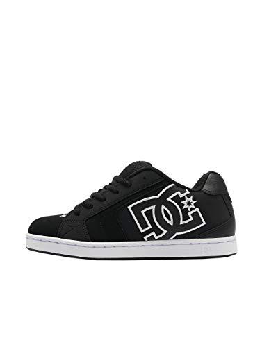 DC Shoes Herren Net Skateboardschuhe,Schwarz (Black/White Xkkw), 41 EU
