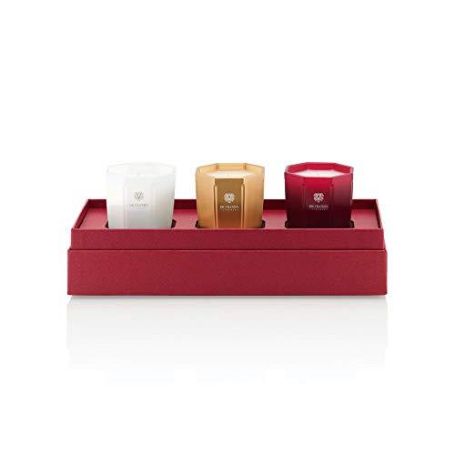 Dr. Vranjes Rosso Nobile, Oud Nobile, Ginger Lime Candele profumate Set di 7,6 in confezione regalo