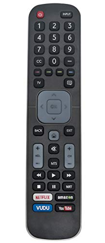 EN2A27ST EN2A27HT Replaced Remote Control Compatible with Sharp Smart 4K LED TV LC-32P5000U LC-40P5000U LC-43P5000U LC-50P5000U LC-55P5000U LC-60P6000U LC-55P6000U LC-32Q5230U LC32P5000U LC40P5000U