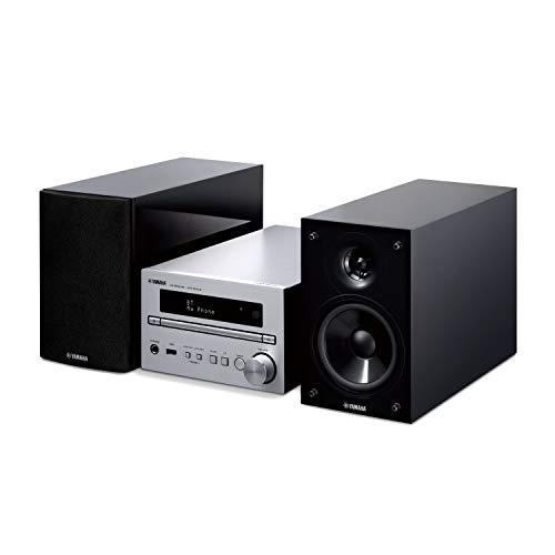 Yamaha MCR-B370D - Microcadena (Microcadena de música para Uso doméstico, Negro, Plata, 1 Discos, Bandeja, 30 W, De 2 vías)