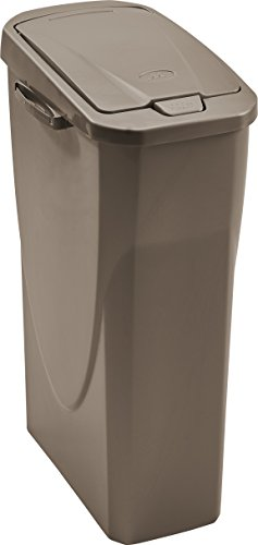 M-Home   EcoBin Mülltrenner   Connect Ready, Polypropylen, Grau/Taupe, 40 l
