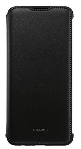 Huawei PU Schutzhülle, Flip Cover für p Smart 2019, Black