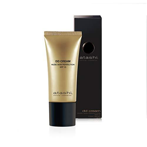 Atashi Dd Cream Antiedad. Tratamiento Antiedad Con Color No Makeup - Makeup, Atenúa Las Manchas Y Minimiza.