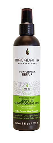 Macadamia Professional Hair Care Sulfate & Paraben Free Natural Organic Cruelty-Free Vegan Hair Products Weightless Repair Leave-In Conditioning Mist-8oz