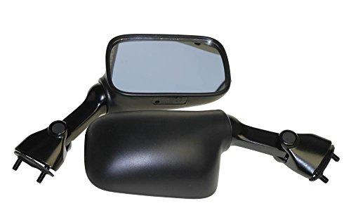 Spiegel Set, Rückspiegel für Suzuki GSX-R 600, GSX-R 750, RF 600 R, RF 900 R, RGV 250 und TL 1000 S/R, mit E-Nummer