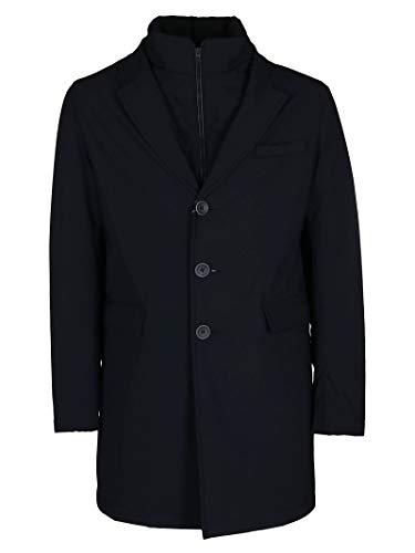 Herno Luxury Fashion Herren PI0666U12346S9200 Blau Polyester Mantel   Herbst Winter 20