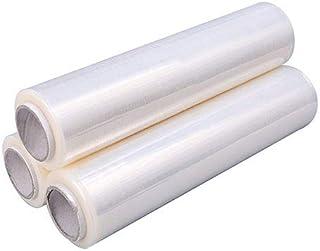 50cm 300m 20my 48x Stretchfolie Transparent Folie Wickelfolie Palettenfolie