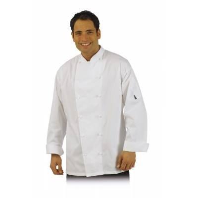 Le Chef Executive Jacket Weiß White XXL