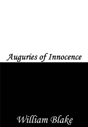 Auguries of Innocence (English Edition)