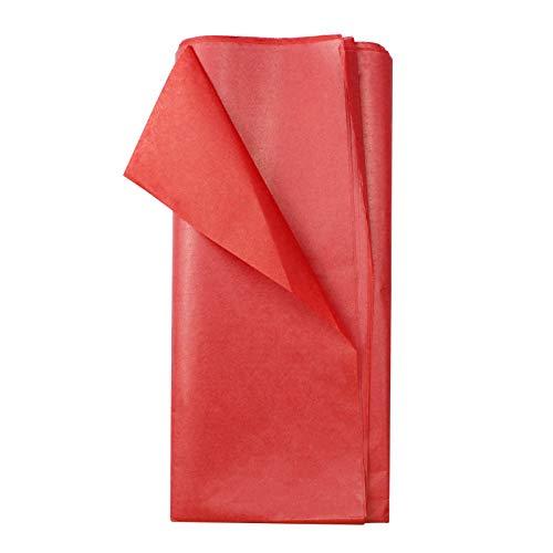 Papel Seda Rojo para Envolver Marca WakiHong