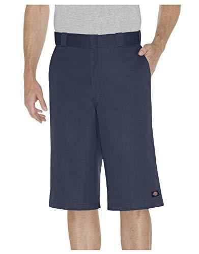 Dickies Men's 15 Inch Inseam Work Short with Multi Use Pocket, Dark Navy, 42