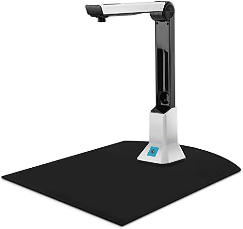 befon Escáner de documentos Visualizador de cámara para enseñar escáneres de formato USB 8MP HD A4 para ordenadores portátiles PC portátil Doc Cam Photo Scanner formación en línea con OCR