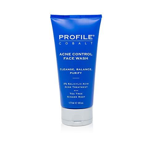 Profile   Cobalt Acne Control Face Wash for Men, 2.5 fl oz.