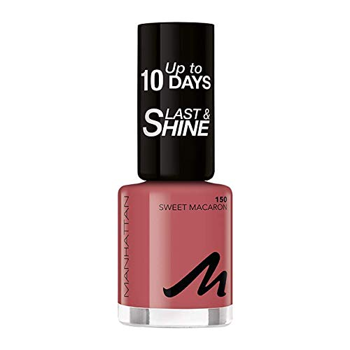 Manhattan Last und Shine Nagellack, Nr.150 Sweet Macaron, 1er Pack (1 X 10 ml)