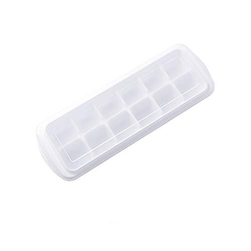 VICKY-HOHO Eiswürfelschale, Eiswürfelform Eisherstellung Eisbox Modell Hausgemachte Eisschale Eismaschine Küche Essbar