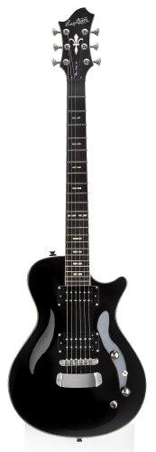 Guitarra eléctrica hagstorm ultra swede - negra