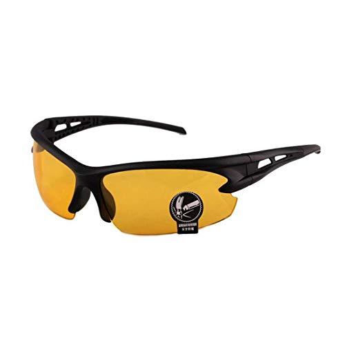HoitoDeals Gafas de sol unisex con protección UV para ciclismo, equitación, deportes al aire libre, etc.