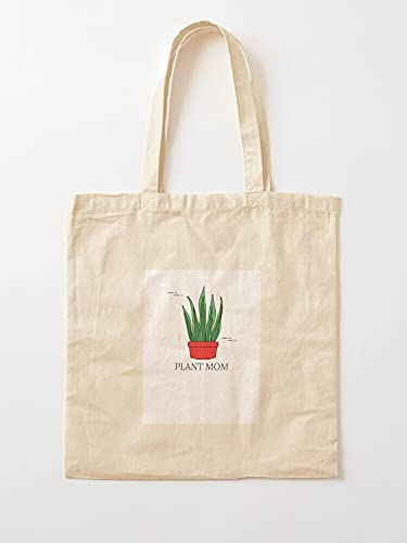 Générique Terra White Dessert Pflanzen Green Cotta Mom Succulent | Einkaufstaschen aus Segeltuch mit Griffen, Einkaufstaschen aus nachhaltiger Baumwolle