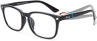 Livhò Blue Light Blocking Filter Computer Glasses Flexible Frame,Lightweight Eyeglasses for big and small face