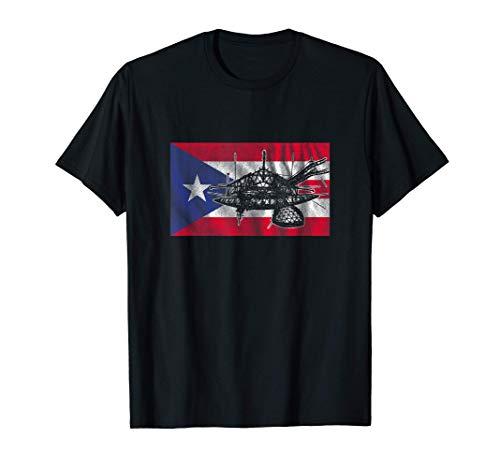 Puerto Rico Flag Arecibo Observatory T-Shirt