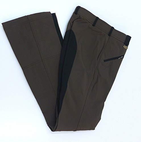 USG Damen Jodhpurhose Reithose Isabelle Farbe braun Besatz schwarz 72
