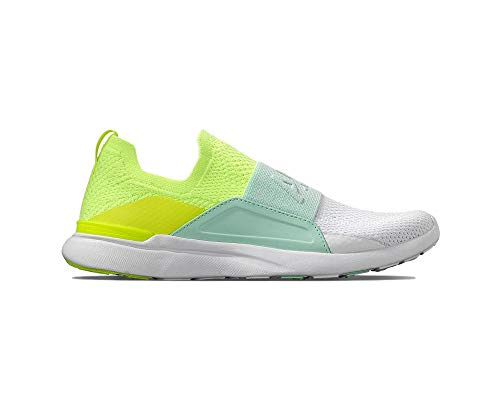 Athletic Propulsion Labs (APL) Techloom Bliss Energy/Peppermint/White 9.5 B (M)