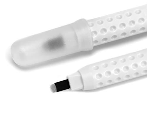 MADLUVV Le meilleur Microblading Pen accessoires Kit pour Flawless Sourcils, 10 Pack, encre pigmentée Stylos (18U)