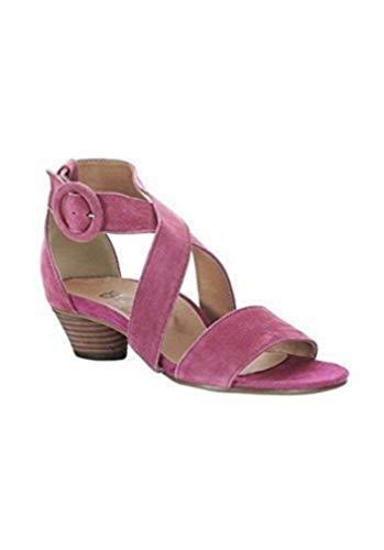 Sandalette Damen aus Veloursleder von Andrea Conti - Koralle Gr. 40