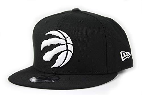 NEW ERA (ニューエラ)9FIFTY スナップバックキャップ BLACK & WHITE NBA イースタン カンファレンス Toronto Raptors トロント ラプターズ