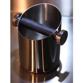 Rocket Espresso Abklopfkasten in Edelstahl verchromt
