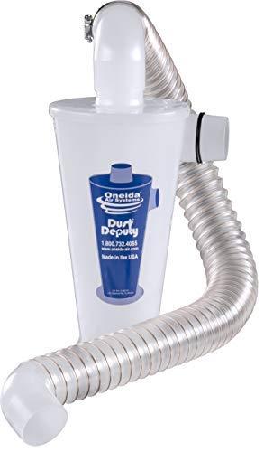 Product Image of the Dust Deputy Anti-Static Cyclone Separator (DD DIY Plus)