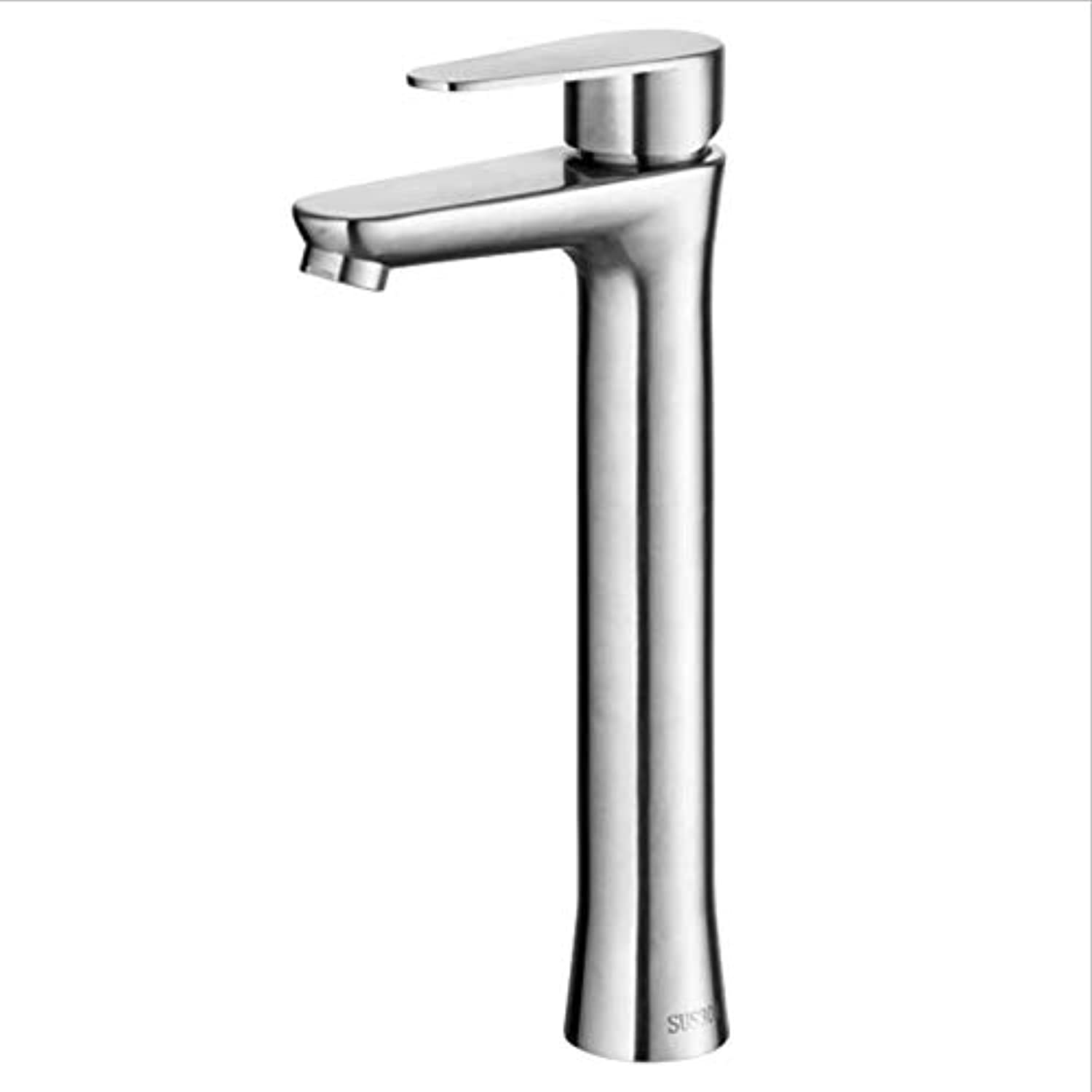 Electroplating Single Hole Copper Basin tap hot and Cold Mixed Water washbasin tap