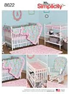 Simplicity 8622 Crib Bedding