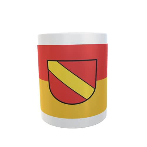 U24 Tasse Kaffeebecher Mug Cup Flagge Neuenburg an Rhein